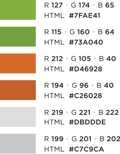 Primary E panded Variations Web Palette