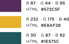 Secondary Web Palette