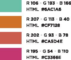 Tertiary Web Palette
